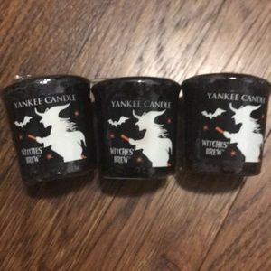 Yankee Candle witches brew 3 votive candles